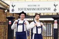 Betfair help Spurs get behind Bayern Munich with Lederhosen   PR Examples Spurs Fans, London Clubs, Lederhosen, North London, Tottenham Hotspur, Champions League, Chelsea, Football, My Style
