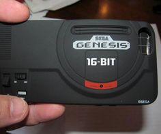 Sega Genesis iPhone Case http://www.thisiswhyimbroke.com/sega-genesis-iphone-case