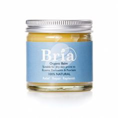 Bria 100% Natural Organic Soothing Balm for Eczema Prone & Dry Skin suitable for Adults, Children & Babies - Scent Free (120ml): Amazon.co.uk: Baby