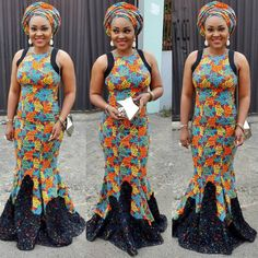 Mercy Aigbe, ball gown, Ankara style, make up, gele, selectastyle, @beautifixx , @ceolumineeofficial, fashion designer,