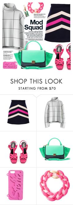 """""""Mod Squad"""" by italist ❤ liked on Polyvore featuring MSGM, Chicwish, Yves Saint Laurent, STELLA McCARTNEY, Moschino, women's clothing, women's fashion, women, female and woman"""