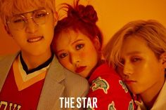 Triple H pose in yellow and red for 'The Star' | allkpop.com