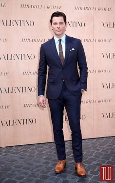 73ef45e425693 James Marsden in Valentino Valentino Suit, Valentino Couture, Suit And Tie,  Red Carpet