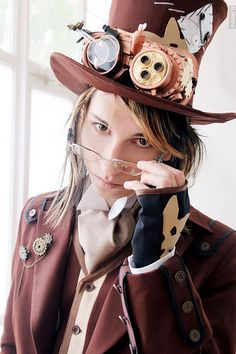 Steampunk very mad hatter