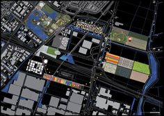 OMA: propuesta para el centro de la ciudad de Holanda - Floriade 2022