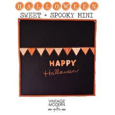 Sweet + Spooky Halloween Mini Quilt « Moda Bake Shop
