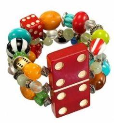 game piece bracelet