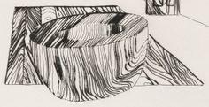 Richard Artschwager. Interior #2. 1977. Detail.