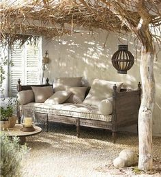 36 Innovative Outdoor Living Room Design Ideas For This Winter - Creating a comfortable outdoor living space is a great idea to expand your families living area. By using outdoor chaise lounge chairs, ottomans and d. Outdoor Living Space, Outdoor Rooms, Outdoor Decor, Decor, Home, Interior, Living Spaces, Outdoor Spaces, Home Decor
