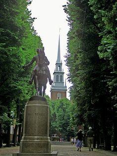 Freedom Trail Walk Through Boston