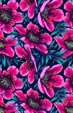 Manuka Floral Repeat Print