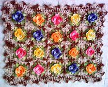 Receitas Círculo - Tapetes de Flores em Relevo