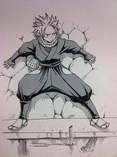 Ninja Natsu, Ninjatsu !! Natsinja !! <3 from Mashima's Twitter