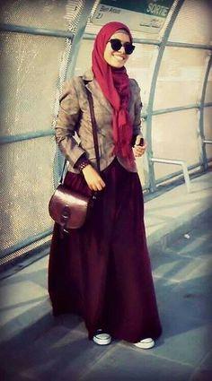 Tunisian style #hijab#muslimah fashion
