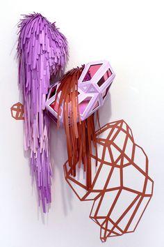 lauren clay :: cut paper sculptures