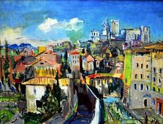 Oskar Kokoschka, Avignon on ArtStack #oskar-kokoschka #art