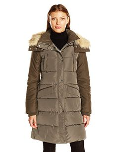 d8aaee161c488 French Connection Women s Faux Wool Down Wind Coat