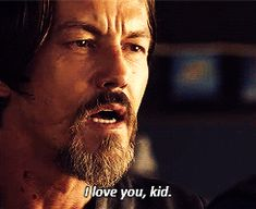 One of my favorite scenes with Chibs. He was so good. The brotherly love was genuine.
