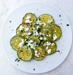 Sauteed Zucchini with Feta recipe