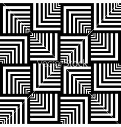 Illustration of Seamless patterns set in op art design. vector art, clipart and stock vectors. Geometric Patterns, Geometric Shapes, Geometric Quilt, Doodle Patterns, Op Art, Optical Illusion Quilts, Optical Illusions Drawings, Art Texture, Texture Vector