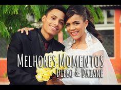 """Diego e Daiane  """"Depois de andarem por diversos caminhos, eles se encontraram. Envolvidos por um verdadeiro amor, decidiram viver um para o outro e ambos para Deus."""""""