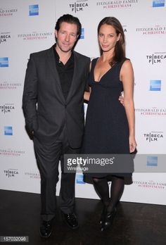 Edward Burns and Christy Turlington attend the Tribeca Film's Special New York Screening Of 'The Fitzgerald Family Christmas' at the Tribeca Grand Hotel on November 27, 2012 in New York City.