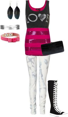 """rockergirl"" by star-girl777 on Polyvore"