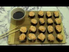 Запеченные роллы - как приготовить с соусом в домашних условиях по рецептам с фото