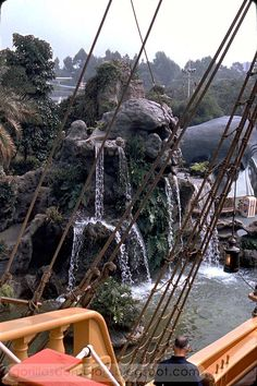 Skull Rock, Fantasyland, Disneyland, 1967.