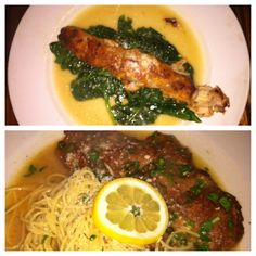 One of all time favorite neighborhood Italian spots is Sugos! They always have great specials. Check out the pictures bellow of Chicken Spiedini and Veal Picata   Follow the link for location, reviews and more information: http://bestrestaurantsinstlouis.com/restaurant/all-cuisine/sugos-spaghetteria/
