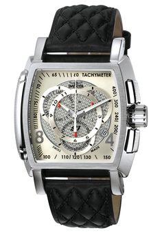Invicta Men's S1 Chronograph Black Leather - Watch 5660,    #Invicta,    #5660,    #WatchesChronographQuartz