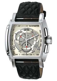Invicta Men's S1 Chronograph Black Leather - Watch 5660,    #Invicta,    #5660,    #WatchesChronographQuartz