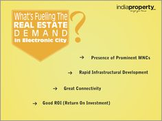 What's fueling the real estate demand in Electronic City? | SurFolks