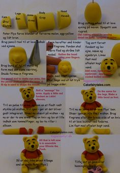 Cake Fairy Tales: How to make Winnie the Pooh