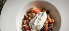 Berry Crisp  Ethan Holmes - Second Bar + Kitchen | Sous Chef Series | Presented by Tasting Table and Williams-Sonoma