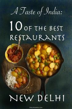 We take a look at ten of the best restaurants for local food and other Indian cuisines in New Delhi. Find out what made the list on theculturetrip.com!