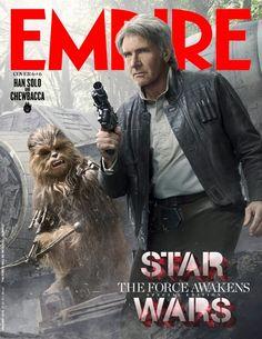 ATUALIZADO em 24/11/2015com as seis capas da última edição da revista Empire, cada uma destacando diferentes personagens do filme (clique nas miniaturas para ampliá-las): ATUALIZADO em 11/11/2015...