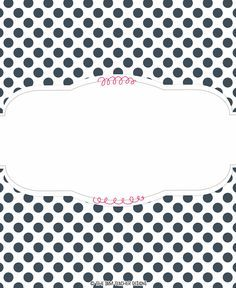 FREE Polka-Dot Binder Cover Graphic by The 3AM Teacher!!
