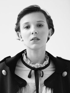 Millie Bobby Brown, photographed by Matthew Priestley for W magazine, Oct Millie Bobby Brown, Mario Testino, Post Malone, Watch Stranger Things, Browns Fans, Idole, Portraits, Film Serie, Photo Sessions