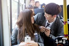 Find images and videos about nam joo hyuk, kim so hyun and school 2015 on We Heart It - the app to get lost in what you love. Korean Actresses, Actors & Actresses, Korean Actors, High School Love Story, Who Are You School 2015, Jong Hyuk, Kim Book, Best Kdrama, Nam Joohyuk