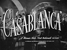 CASABLANCA (1942) BOGIE AND BERGMAN. ENOUGH SAID.