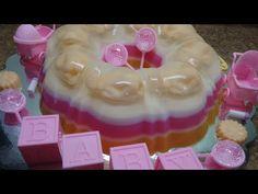 Gelatina Floral/ Dia de las Madres / Gelatina 3 leches & Fresa - YouTube