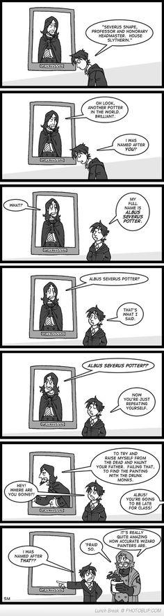 Severus And Albus Severus Lol