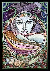 Cerridwen The Moon Goddess  by Courtney Davis