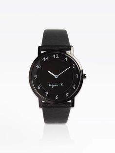 montre agnès noire | agnès b. Smart Watch, Watches, Fashion, Watch, Black People, Accessories, Moda, Smartwatch, Wristwatches