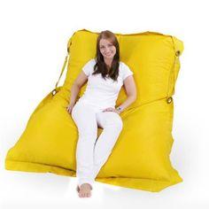 Sitzsack XXL 200 x 140 cm in Gelb (In- und Outdoor) - Jago24 Mobile Shop 37€