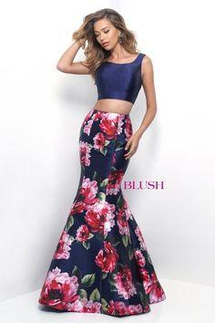 plus size high low floral prom dress | mac duggal 65973f