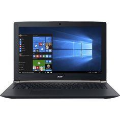 "Refurbished Acer - 15.6"" 4K Ultra HD Laptop - Intel Core i7 - 16GB Memory - Nvidia GeForce GTX 960M - 1TB HDD + 512GB Solid State Drive - Black"