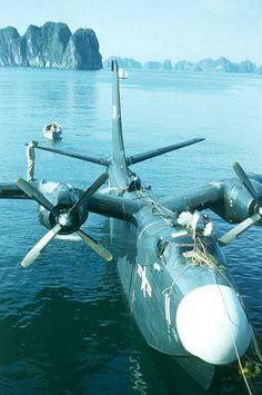 Martin P5M Marlin Flying Boat. Gulf of Tonkin, Vietnam, 1954