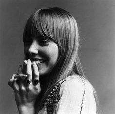 Joni Mitchell is pretty much one of my favorites. I love all of her stuff.